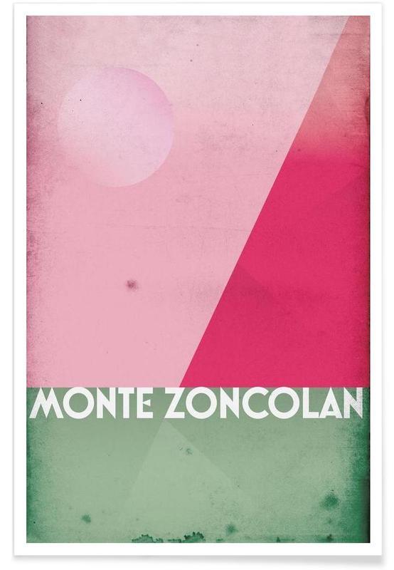 Wielersport, Monte Zoncolan poster