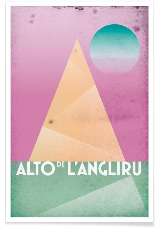 Wielersport, Alto de L'Angliru poster