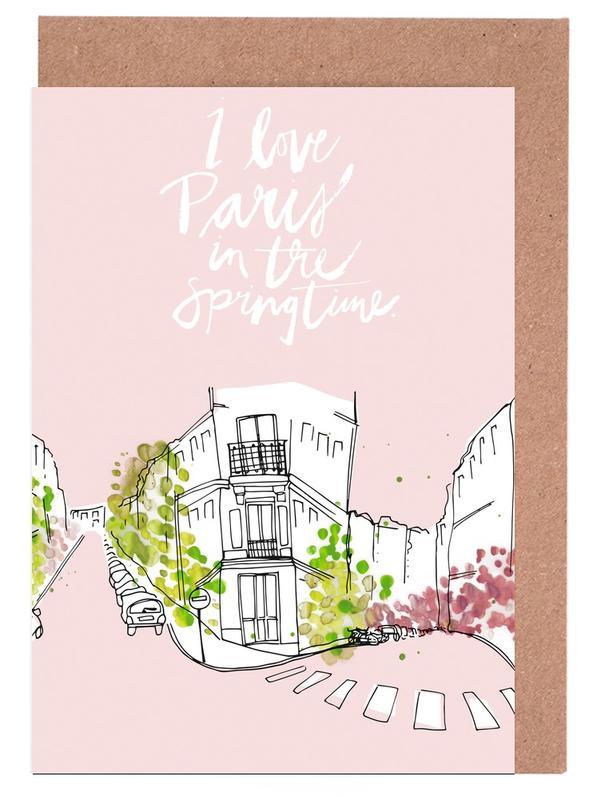 Spring Time -Grußkarten-Set