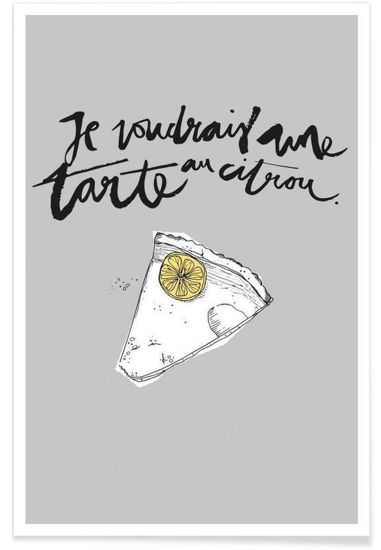 Gâteaux, Tarte affiche