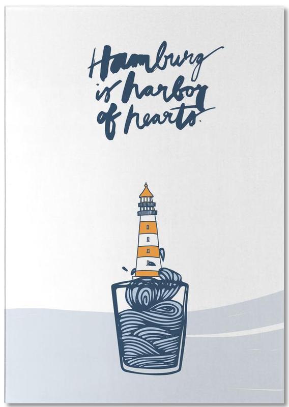 Harbor of Hearts Notepad