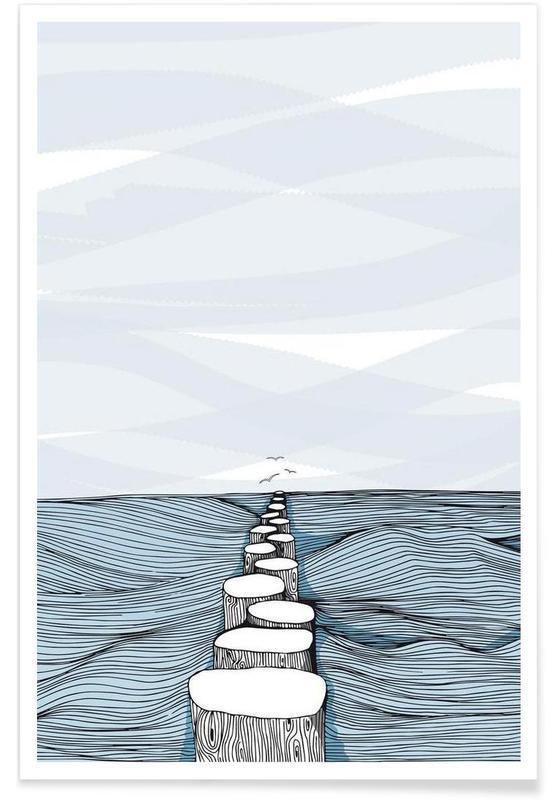 Océans, mers & lacs, Something Calm affiche