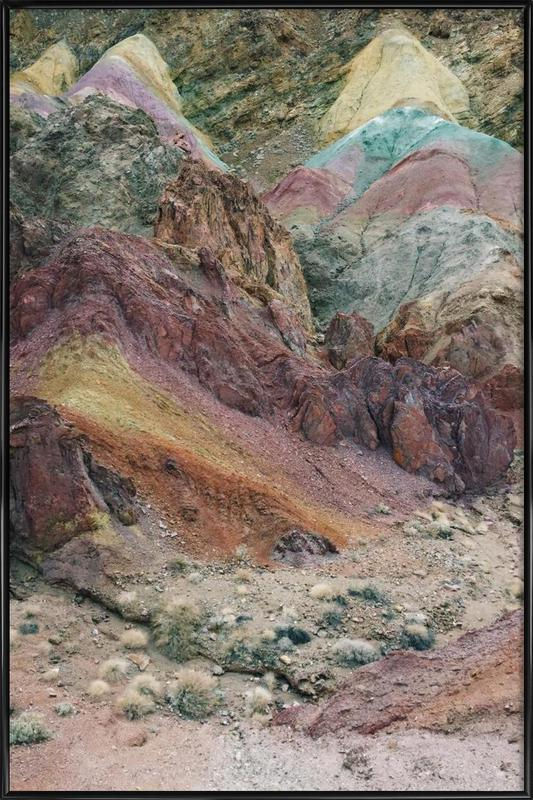 Calico Mountains Framed Poster