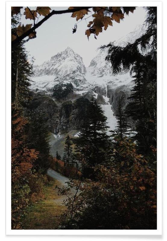 Berge, Cascade River RD -Poster
