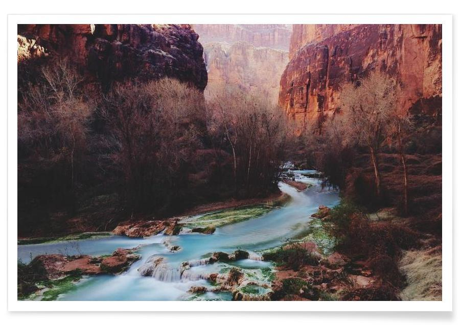 Mountains, Havasu Canyon Creek Poster