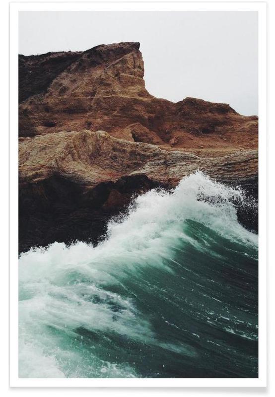 Ozeane, Meere & Seen, Montana Wave -Poster