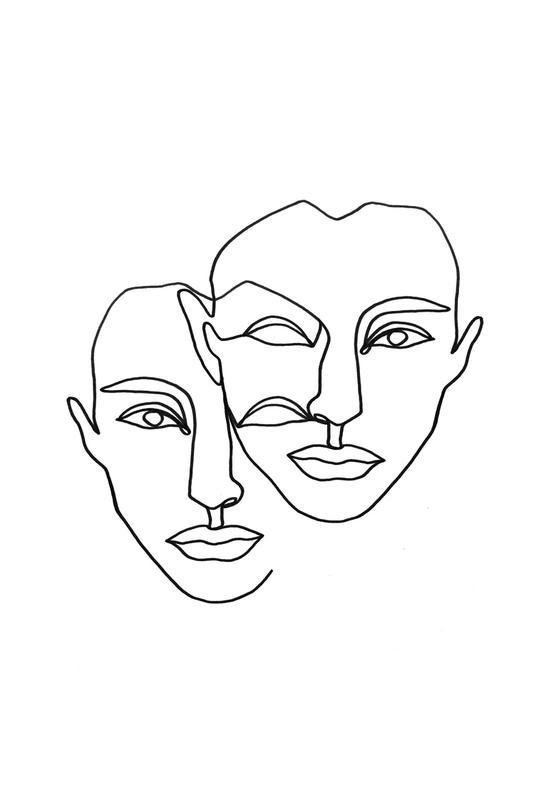 Notion acrylglas print