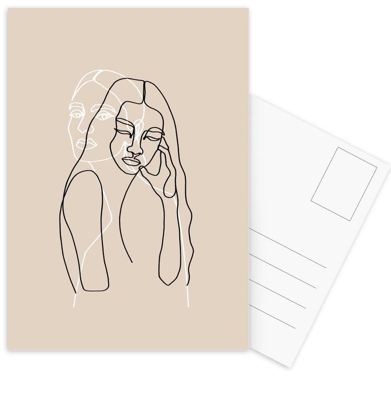 Alma & Wanda -Postkartenset