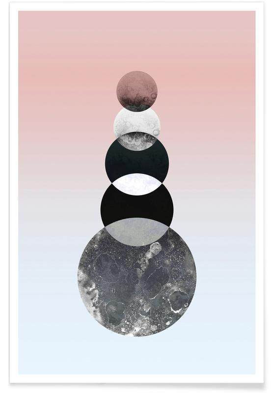 Mond, Moon Tower -Poster