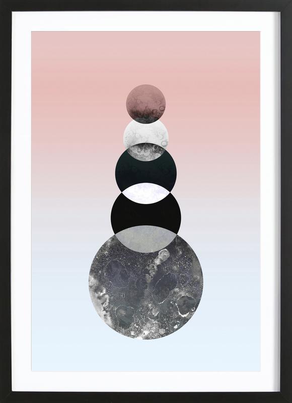 Moon Tower Framed Print