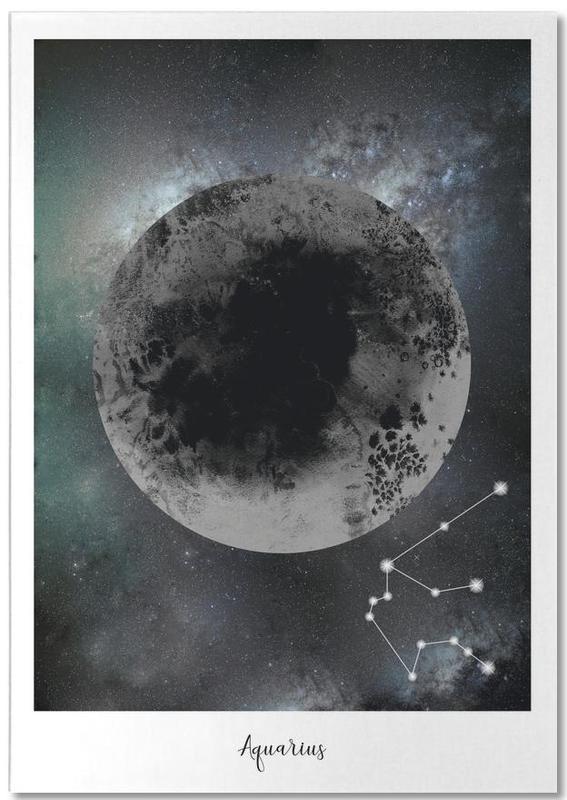 Zodiac Aquarius -Notizblock