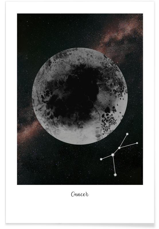 Lune, Zodiac Cancer affiche