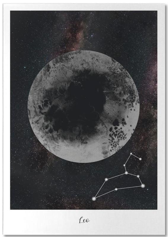 Zodiac Leo -Notizblock