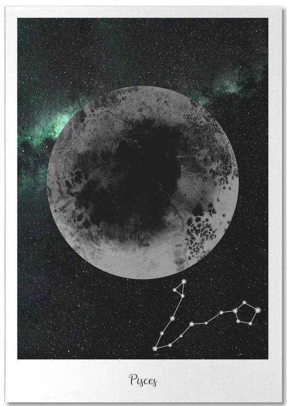 Zodiac Pisces -Notizblock