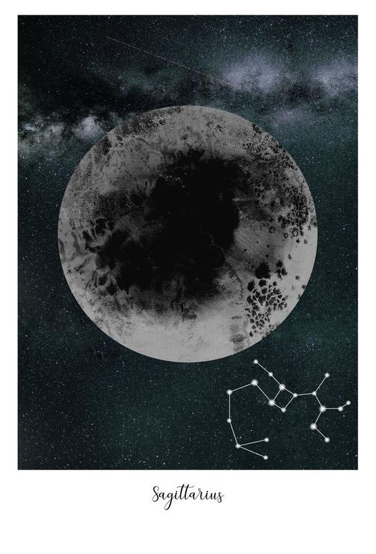 Zodiac Sagittarius Acrylic Print