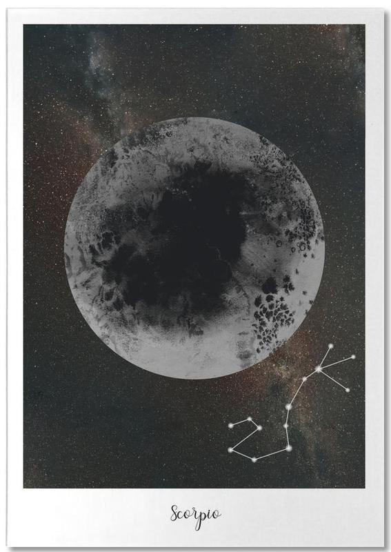 Zodiac Scorpio Notepad
