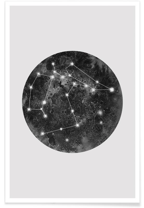 Constellation Grey poster