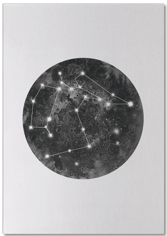Constellation Grey Notepad