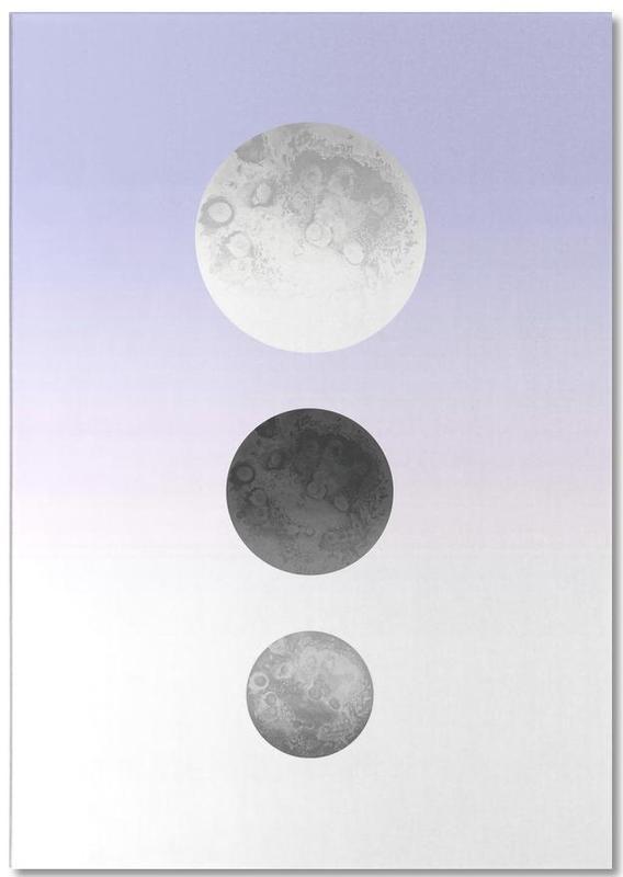 Moon Triplet Lilac Notepad