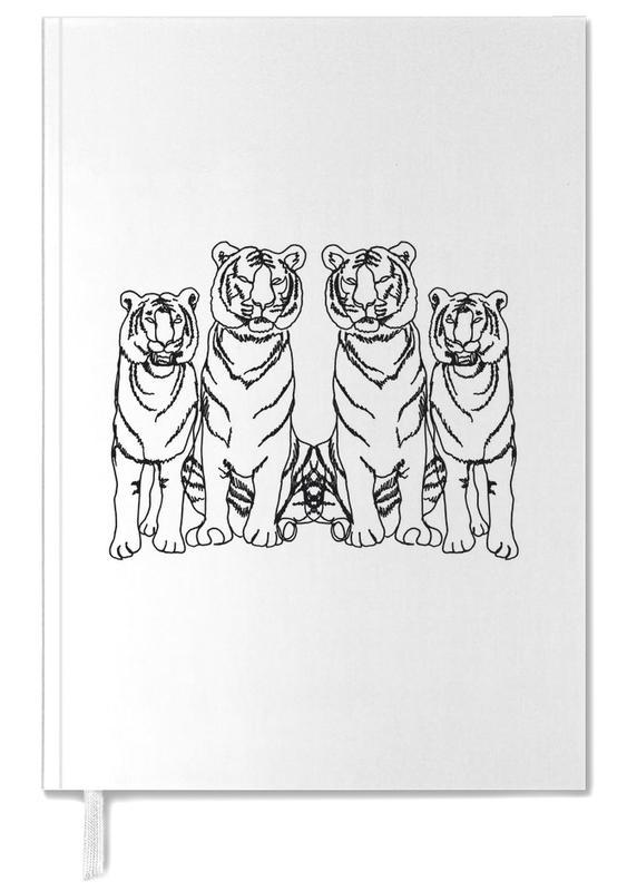 Kunst voor kinderen, Zwart en wit, Tijgers, Single Tiger Squad agenda
