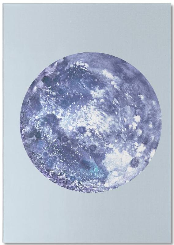 Earth blue -Notizblock