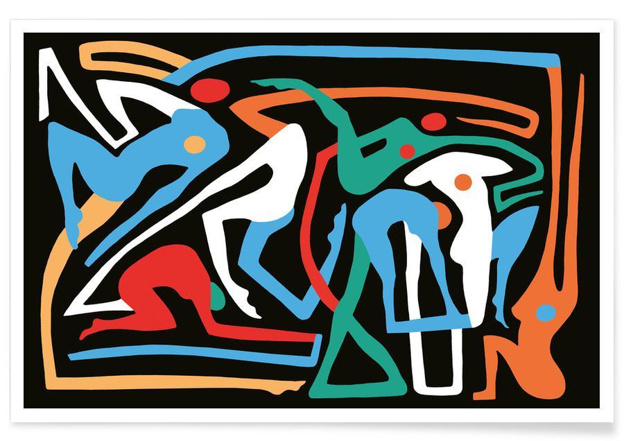 Körperformen, Ecstatic Nudes 8 -Poster