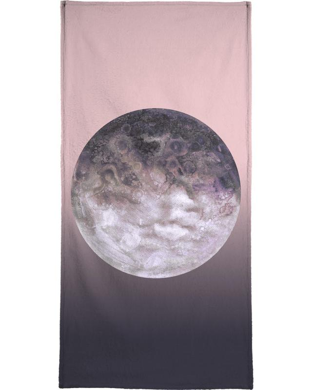 Quaoar lilac gradient Bath Towel