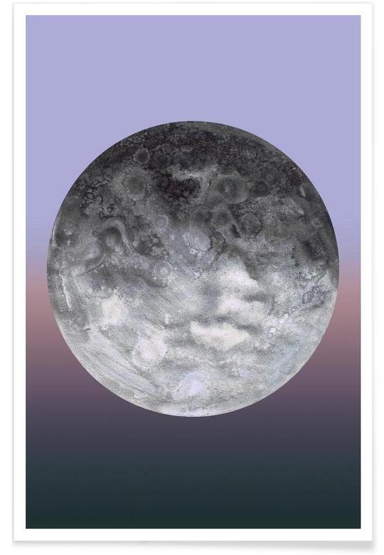 , Quaoar gradient -Poster