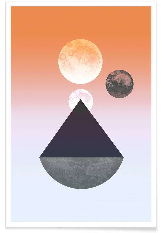 , Moon Triangle -Poster