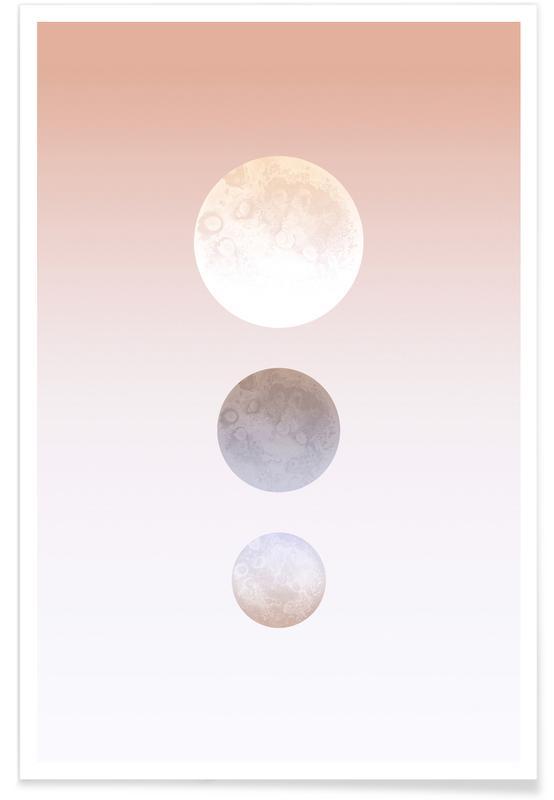 Moon Triplet -Poster
