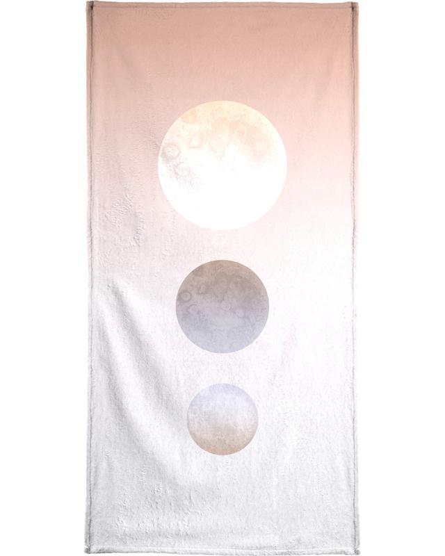 Moon Triplet Bath Towel
