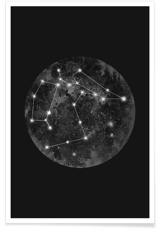 , Constellation Black -Poster