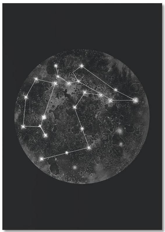 Constellation Black -Notizblock