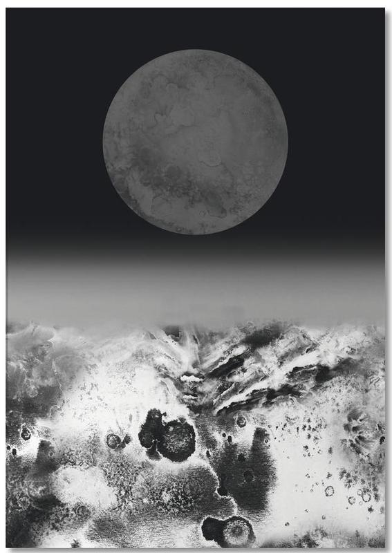 Walking on Lunar -Notizblock