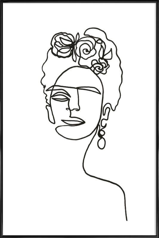 Frida Kahlo Framed Poster