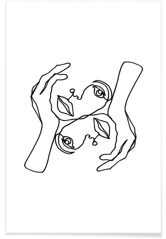 Noir & blanc, Julie affiche