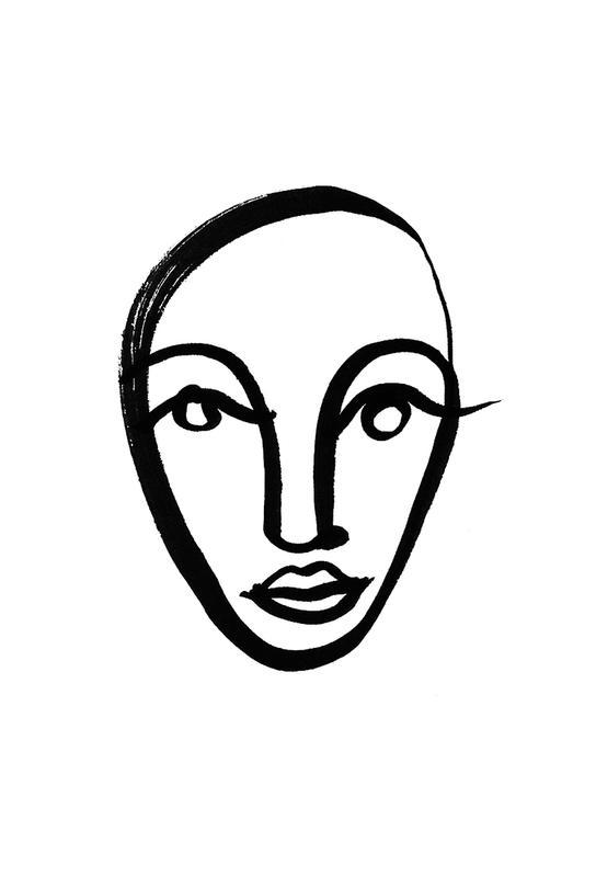 Faces 4 -Alubild