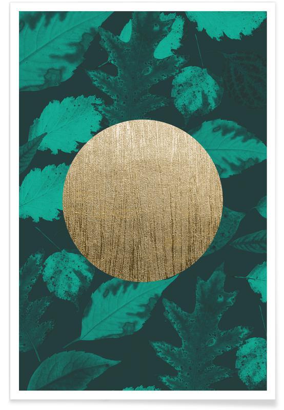 , Gold Moon Green affiche
