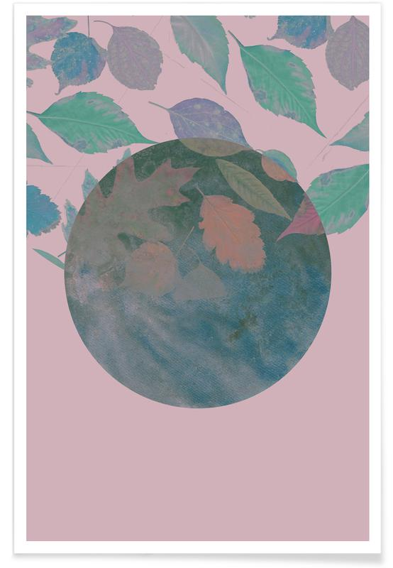 , Autumn Lilac poster