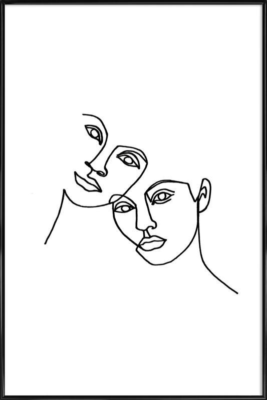 Close -Bild mit Kunststoffrahmen