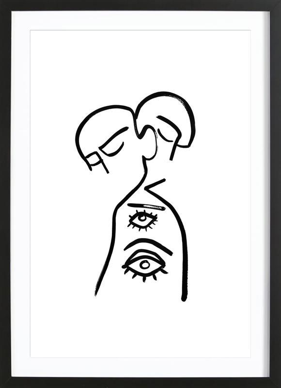 Eye Want You Framed Print