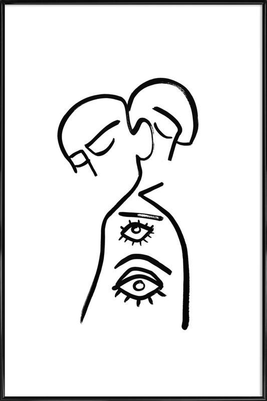 Eye Want You ingelijste poster