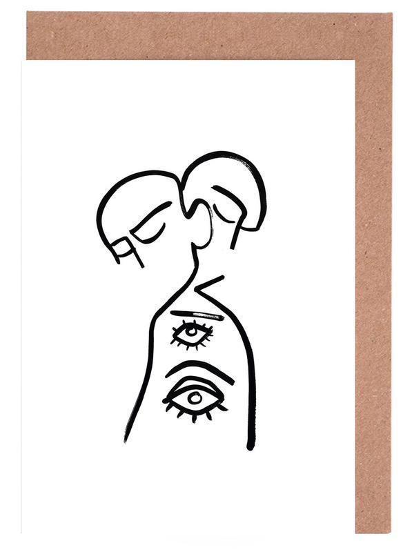 Eye Want You -Grußkarten-Set