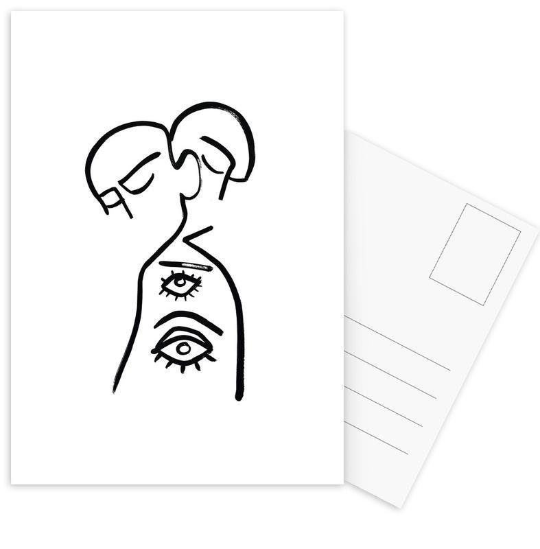 Eye Want You Postcard Set