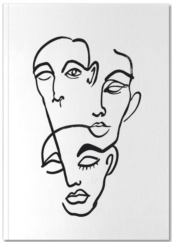 Faces 12 Notebook