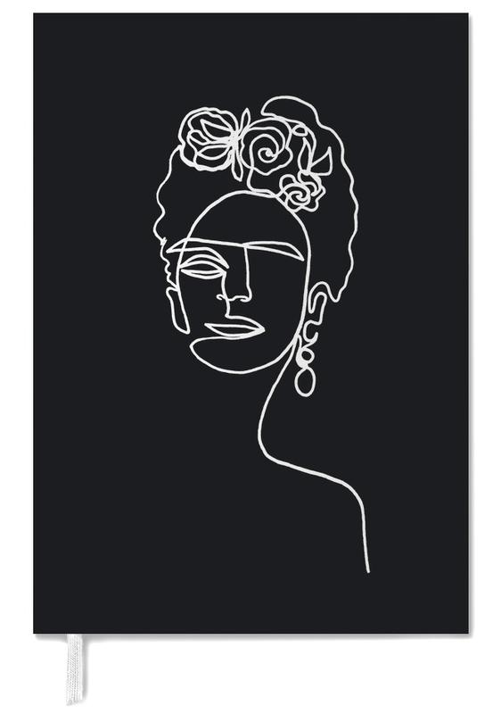 Frida Kahlo BW Personal Planner