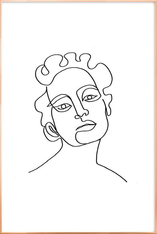 Maude poster in aluminium lijst