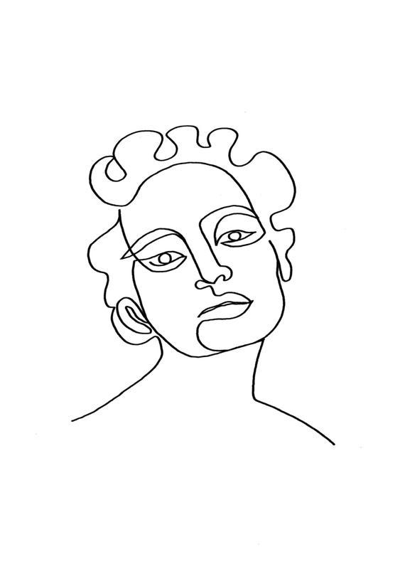 Maude canvas doek