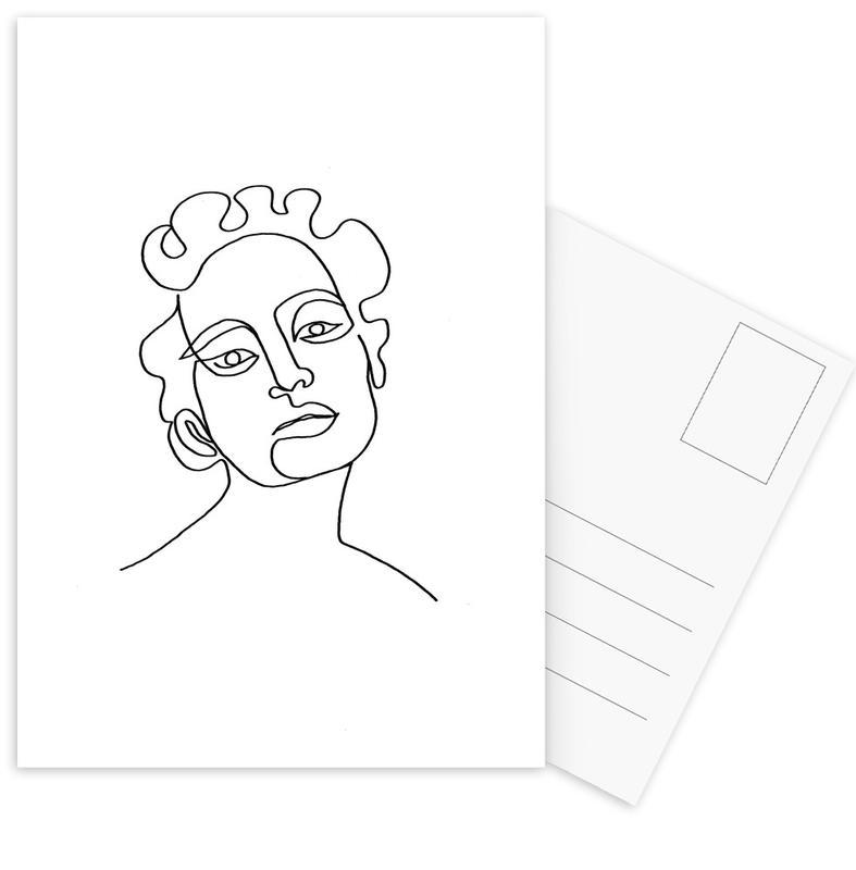 Maude -Postkartenset