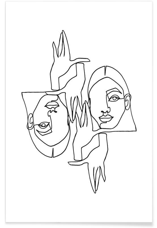 Noir & blanc, Mila affiche